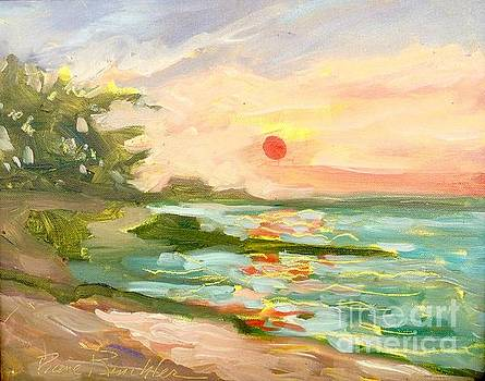 Sunset at Lava Lava by Diane Renchler