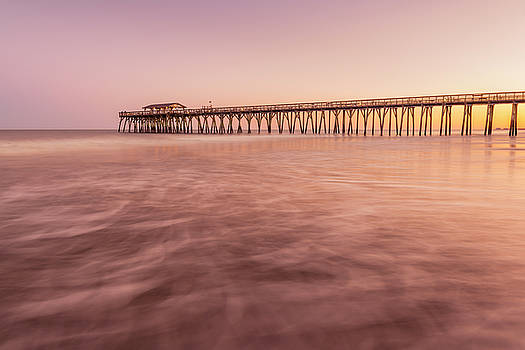 Ranjay Mitra - Sunset at Myrtle Beach North Carolina Fishing Pier