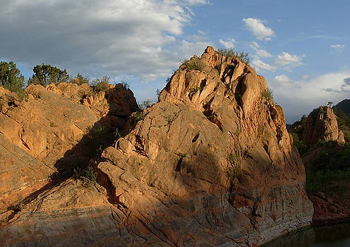 Sunset at Red Rock Canyon by Rhonda Van Pelt