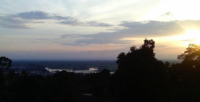 Sunset at River Omamballa by Eziagulu Chukwunonso Innocent