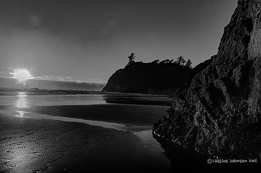 Sunset at Ruby Beach by Cassius Johnson