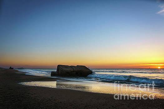 Sunset at Sancti Petri Cadiz Spain by Pablo Avanzini