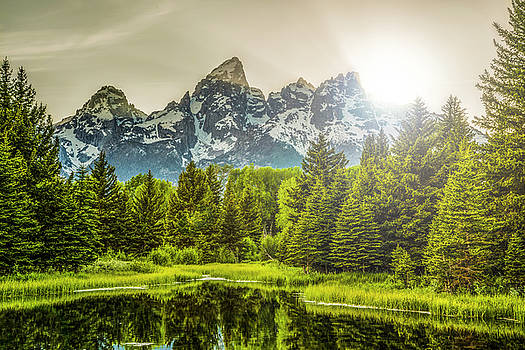 Sunset at Schwabacher by Peter Irwindale
