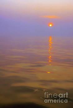 Sunset at Sea by Thomas R Fletcher