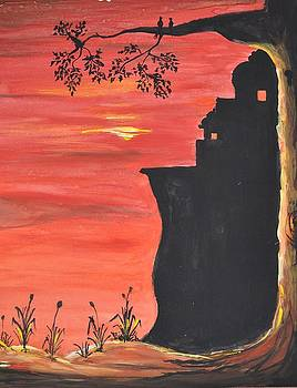 Sunset at the Fort by Poornima Davala