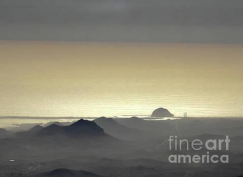 Sunset at the Morro Rock by Ni Zhu