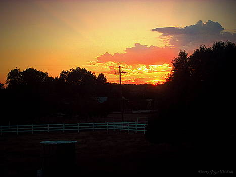 Joyce Dickens - Sunset At The Ranch 06 08 15