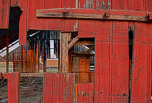 Sunset Barn by Steve Siri