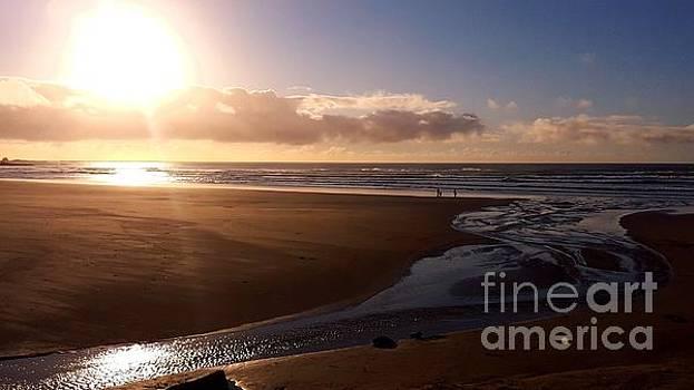 Sunset - Bastendorff Beach by Lani PVG   Richmond