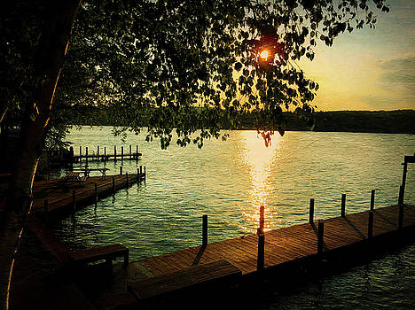 Sunset Bay by Betty Pauwels