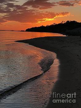 Sunset Bay by Lori Mellen-Pagliaro