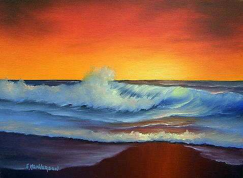 Sunset Beach by Francine Henderson