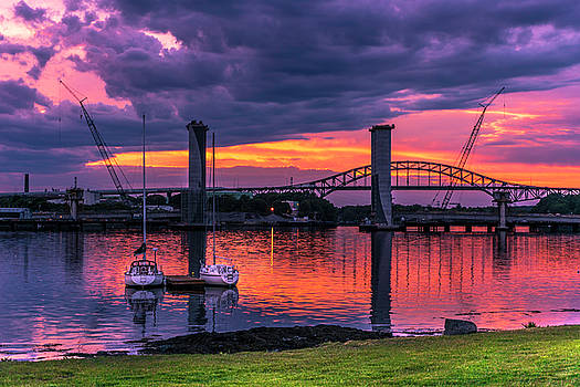Sunset Before the Storm by Devin LaBrie