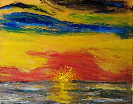 Sunset by Bernard Victor