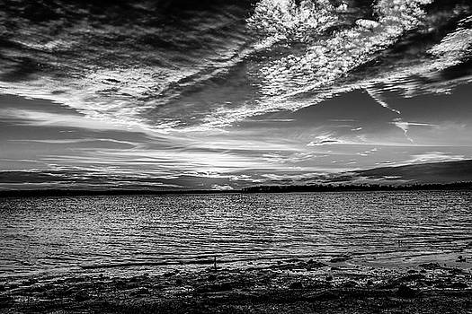Sunset Black and White by Doug Long