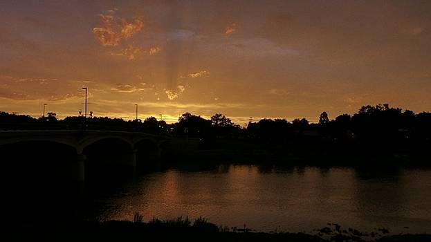 Sunset Bridge by Barkley Simpson
