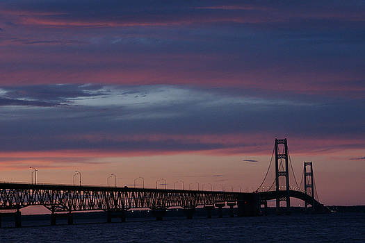 Linda Shafer - Sunset Bridge