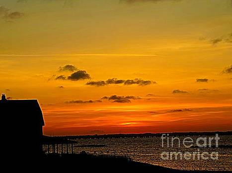 Sunset by the Sea by Angela Weis
