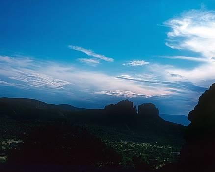 Gary Wonning - Sunset Cathedral Rock Sedona Arizona