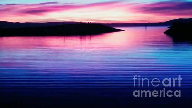 Sunset celenade by Kumiko Mayer