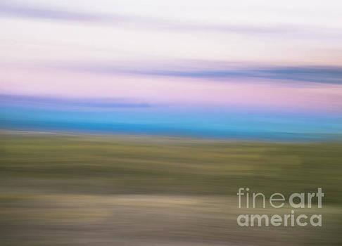 Sunset Cerrillos by Steven Natanson
