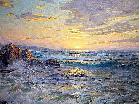 Sunset by Charles Vickery