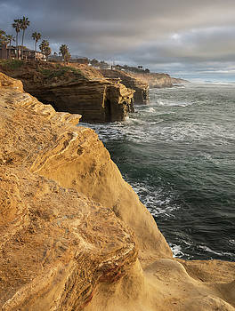 Sunset Cliffs Afternoon Clouds by William Dunigan