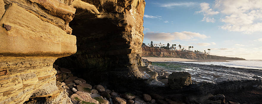 Sunset Cliffs Panorama by William Dunigan