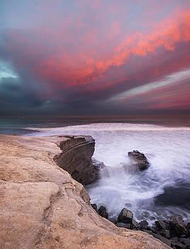 Sunset Cliffs Park Sunrise Cloud by William Dunigan