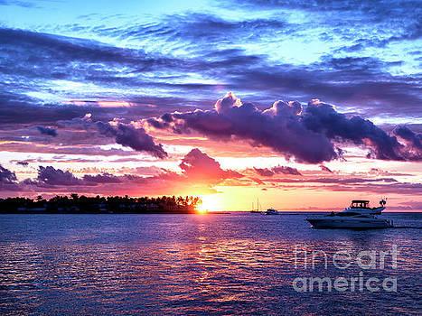 John Rizzuto - Sunset Cloud Shapes in Key West