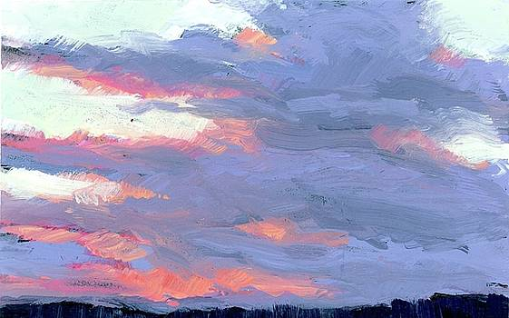 Sunset Clouds by Mary Byrom