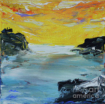Sunset Coast by Alys Caviness-Gober