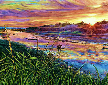 Sunset Creation by Cynthia Pride