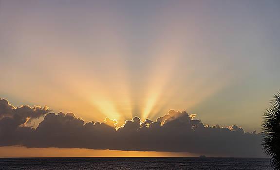 Sunset - Curacao Views by Gail Johnson