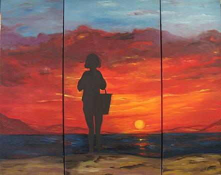 Sunset by Doris Cohen