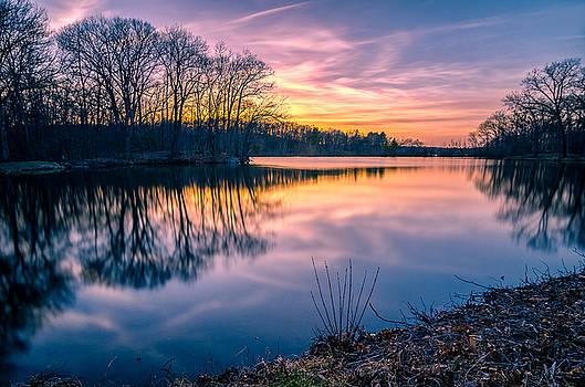 Sunset-Dorothy Pond by Craig Szymanski