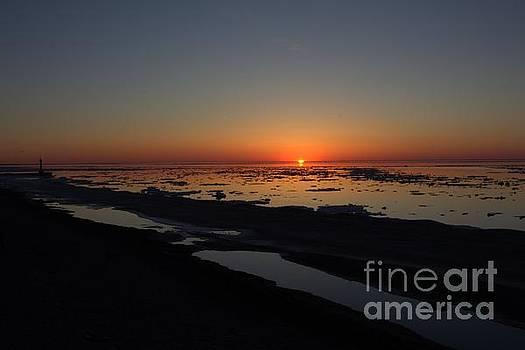 Sunset Down 6 by John Scatcherd