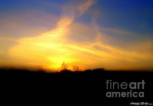 Sunset by Elfriede Fulda
