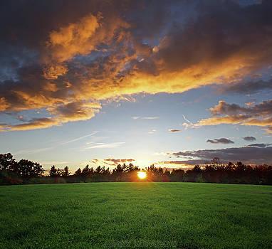 Sunset Field by Jerry LoFaro