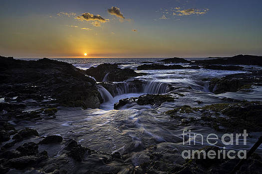 Sunset Finale over Kona All Proceeds go to Hospice of the Calumet Area by Joanne Markiewicz