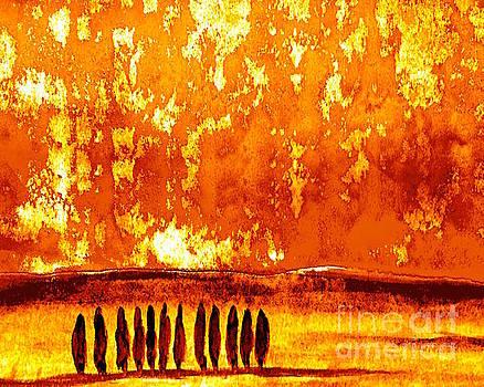 Fire on by Wonju Hulse