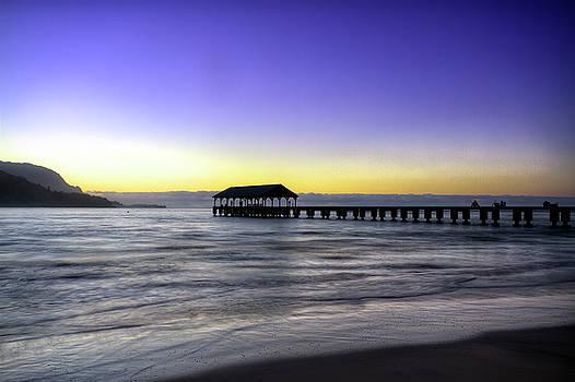 Sunset Fisherman by Brad Granger