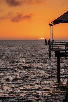 Sunset Fishing by Ray Warren