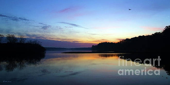 Sunset Florida Seascape Inlet 139A by Ricardos Creations