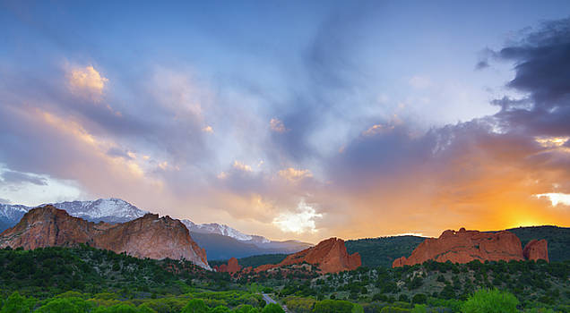 Sunset Forever by Tim Reaves