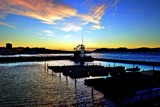 Glenn McCarthy Art and Photography - Sunset From Pier 39 - San Fransisco