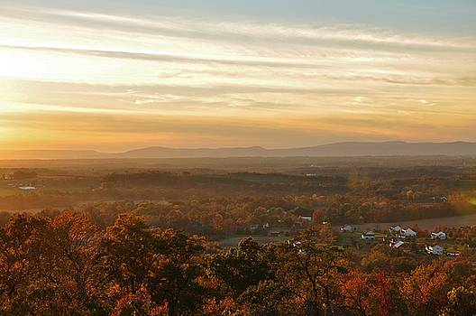 Sunset from South Mountain by William Fox