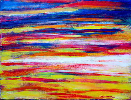Sunset by Gina Nicolae Johnson