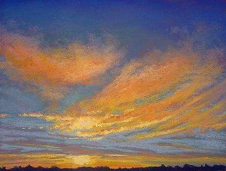 Sunset Glory by Regina Calton Burchett