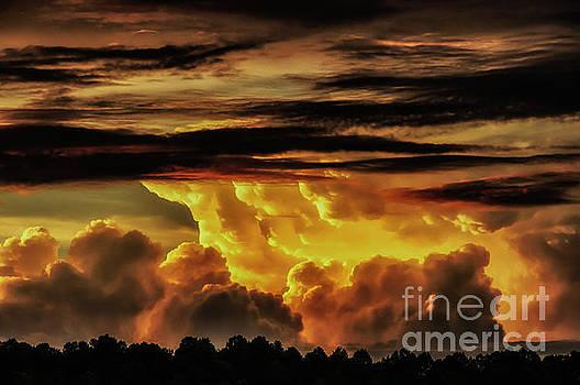 Sunset Glory by Thomas R Fletcher